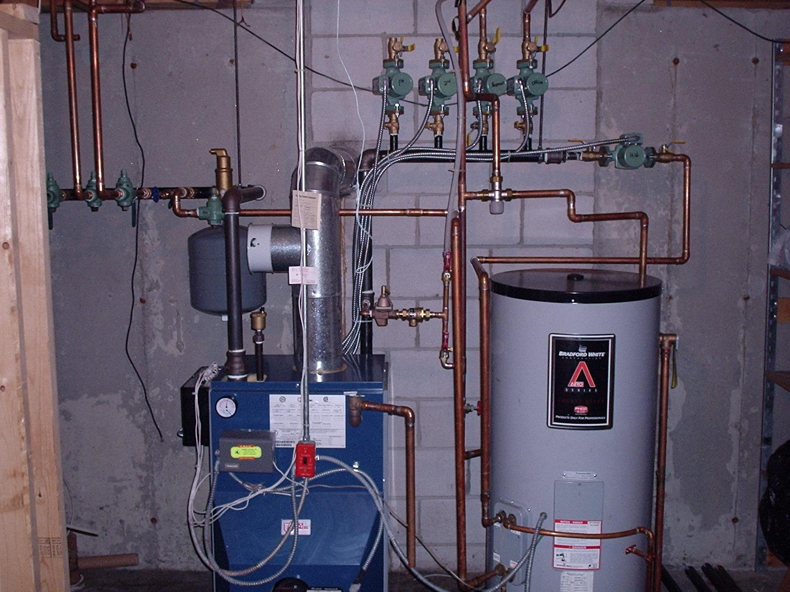 Boiler and water heater